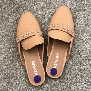 Report Nude Slip On Shoes